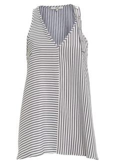 Tibi Soft Stripe Shirting Tank