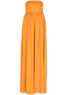 Tibi strapless maxi dress