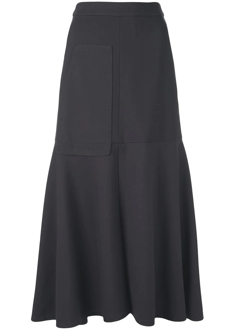 Tibi stretch knit skirt