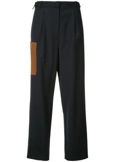 Tibi Tablier straight-leg trousers
