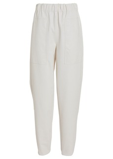 Tibi Tapered Faux Leather Pant