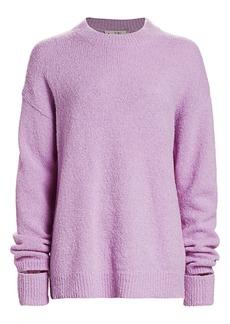 Tibi Textured Alpaca Sweater