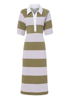 Tibi Rugby Midi Dress