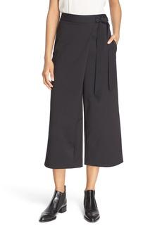 Tibi 'Agathe' Wrap Tie Culottes