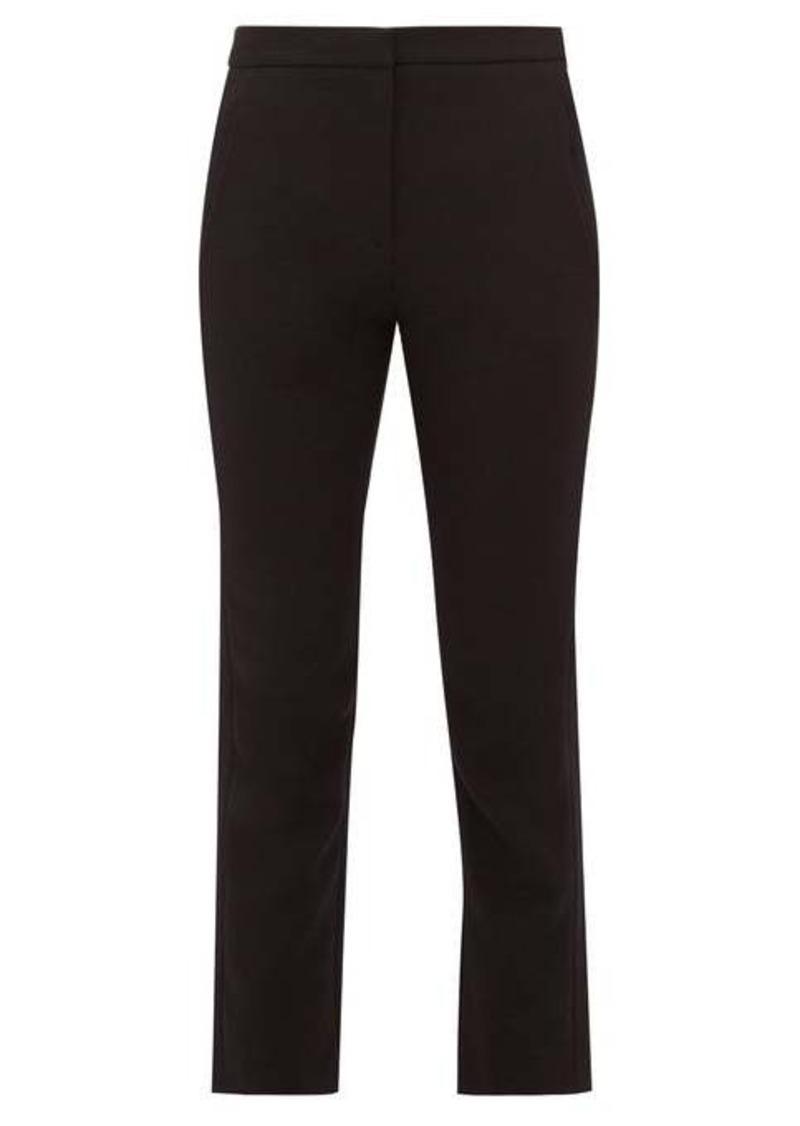 Tibi Anson gabardine slim-leg trousers