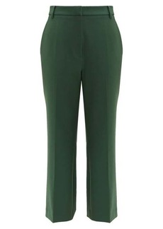 Tibi Anson straight-leg cropped trousers