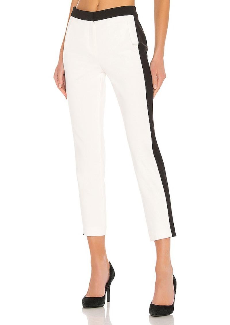 Tibi Anson Stretch Colorblock Pant