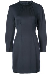 Tibi Astro cut-out shift dress - Blue