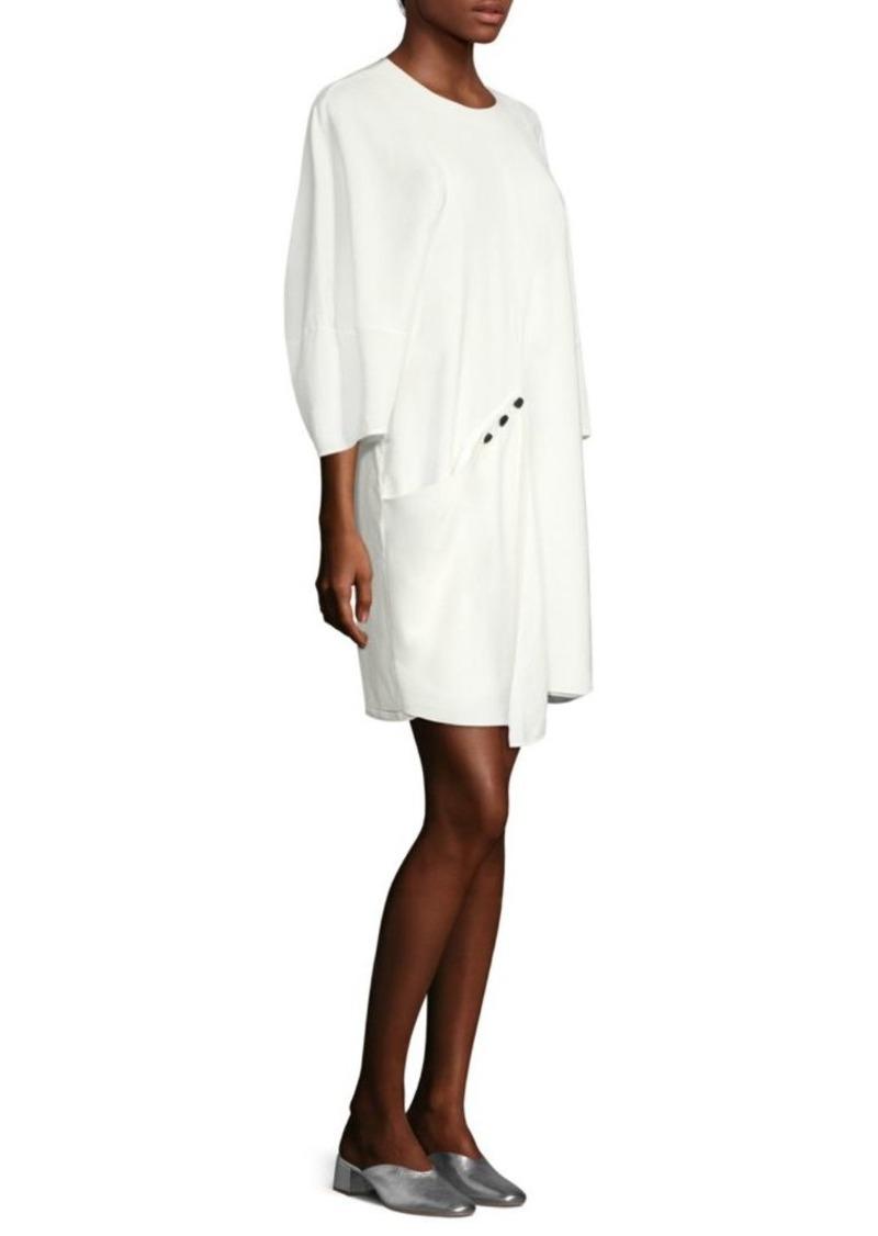 Tibi Asymmetric Shift Dress