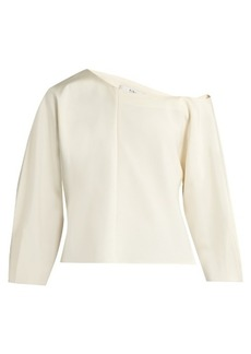 Tibi Asymmetric stretch-faille top