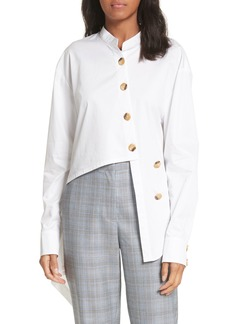 Tibi Asymmetrical Layered Shirt