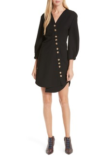 Tibi Asymmetrical Shirtdress