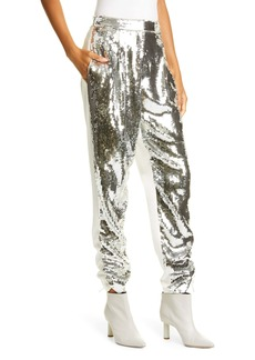 Tibi Avril Sequin Front Trousers