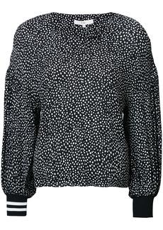 Tibi balloon sleeve blouse - Black