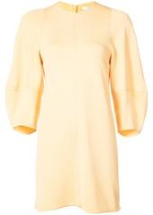 Tibi balloon-sleeve mini dress - Yellow & Orange