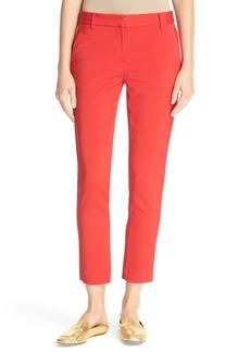 Tibi Beatle Slim Leg Crop Pants