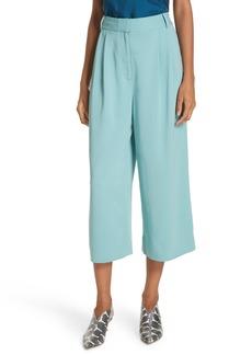Tibi Beatle Suiting Crop Wide Leg Pants