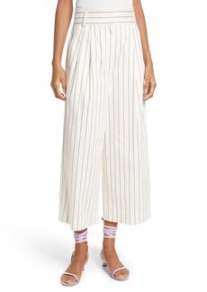 Tibi Bianca Stripe Crop Pants