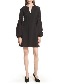 Tibi Bishop Sleeve Dress