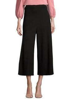 Tibi Bond High-Waist Knit Culottes