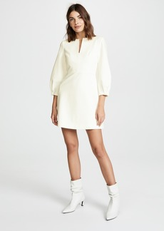 Tibi Bond Split Neck Dress