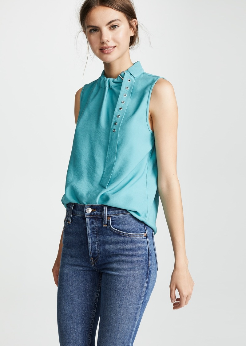 Tibi Buckle Top