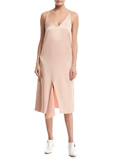 Tibi Celestial Sleeveless Slip Dress