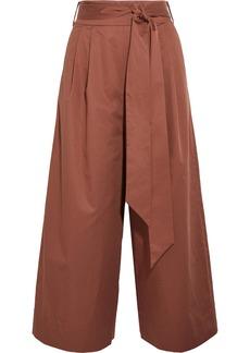 Tibi Cotton-poplin culottes