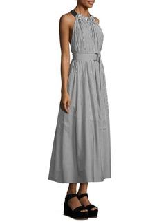 Tibi Cotton Striped Dress