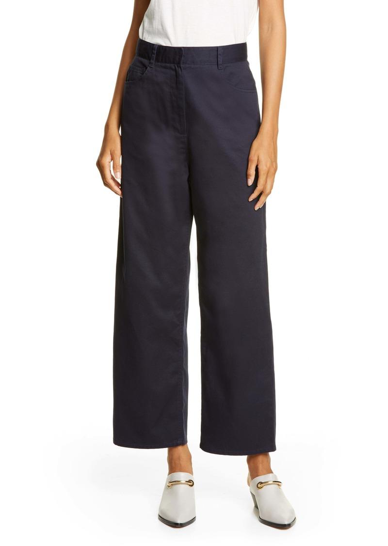 Tibi Cotton Twill Carpenter Pants