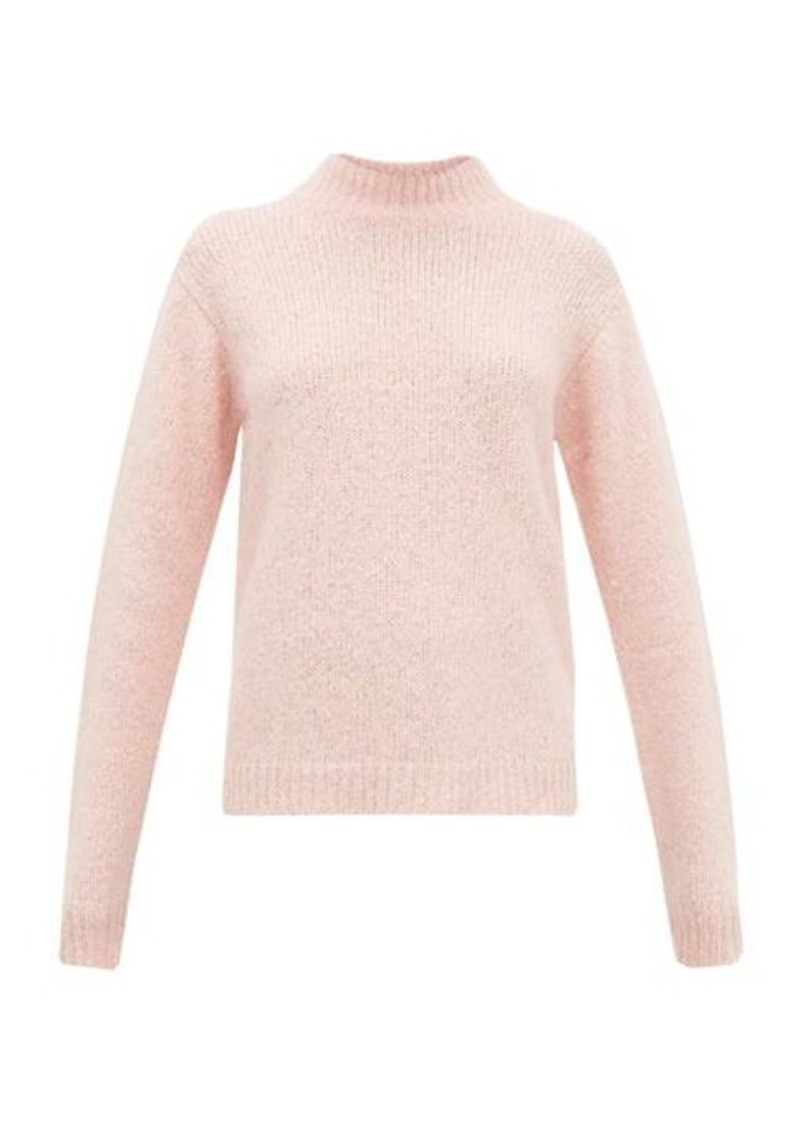 Tibi Cozette mock-neck alpaca-blend sweater