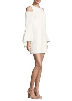 Tibi Crepe Cutout Dress