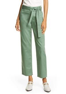 Tibi Crop Cotton Cargo Pants