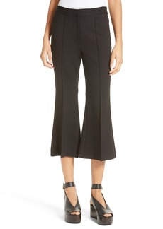 Tibi Crop Flare Leg Pants