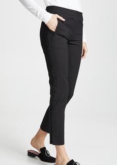 Tibi Cropped Skinny Pants