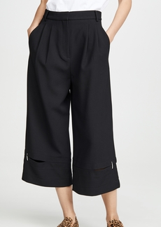 Tibi Culottes with Detached Hem Panel
