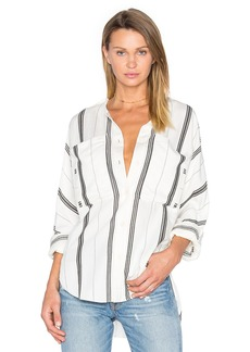 Tibi Dolman Military Blouse