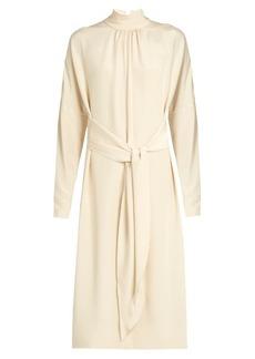 Tibi Dolman-sleeved midi dress
