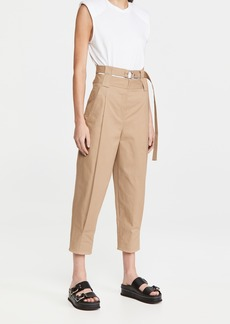 Tibi Double Waisted Sculpted Pants