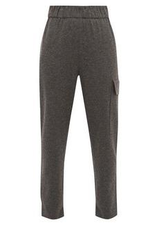 Tibi Drawstring-cuff trousers