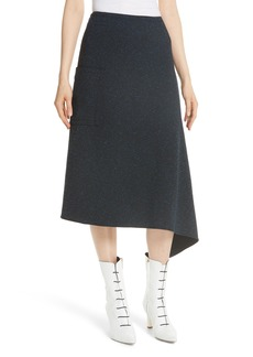 Tibi Eclipse Origami Piqué Skirt