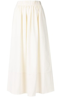 Tibi flared skirt - White
