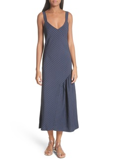 Tibi Gingham Slipdress