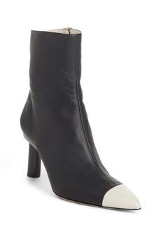 Tibi Grant Column Heel Bootie (Women)