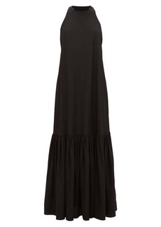 Tibi Halterneck silk dress
