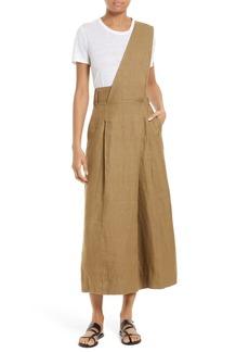 Tibi Hessian Linen Jumpsuit