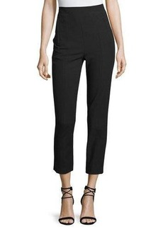 Tibi High-Rise Paneled Ankle Pants