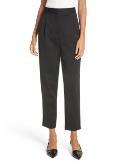 Tibi High Waist Pleated Pants