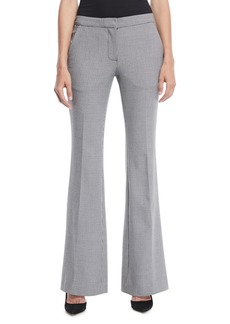 Tibi Hudson Flared-Leg Boot-Cut Pants