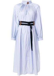 Tibi Isabelle belted dress - Blue